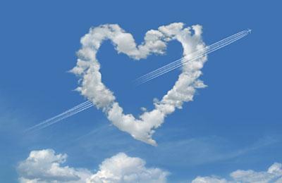 Heart-Sky-Plane